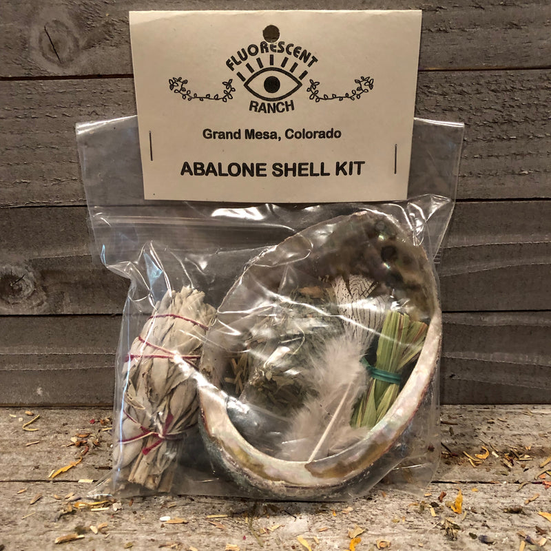 Small Abalone Shell Kit