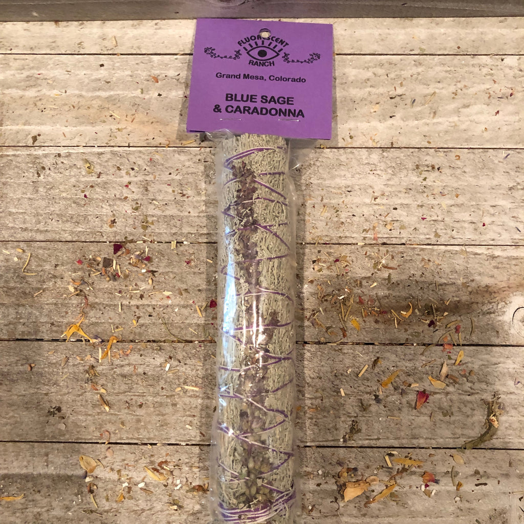 Caradonna and Blue Sage Smudge Stick
