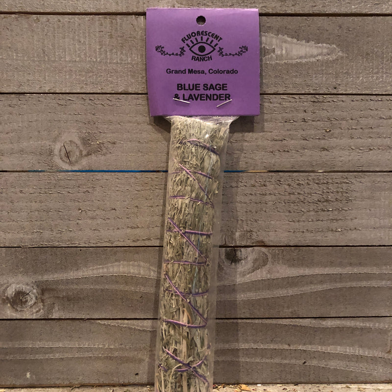 Lavender and Blue Sage Smudge Stick
