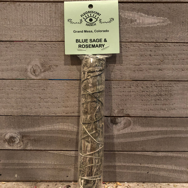 Rosemary and Blue Sage Smudge Stick
