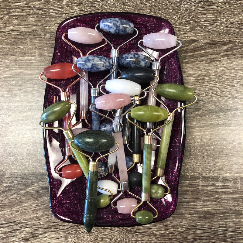 Gemstone Facial Roller