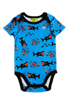 Shark Attack Romper