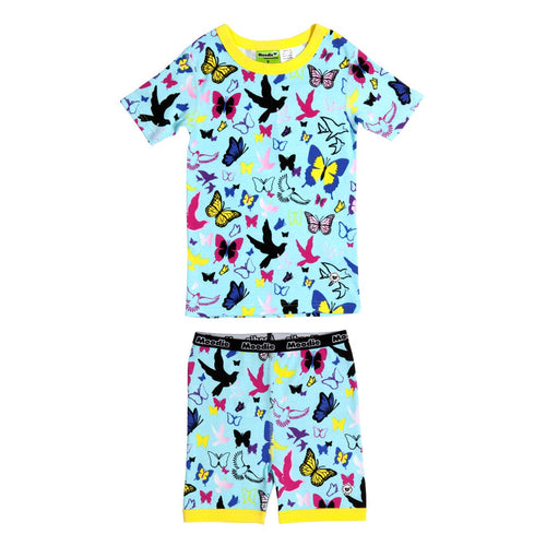 Flutter Fly Short John Set