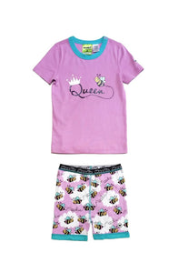 Queen Bee Short John Set