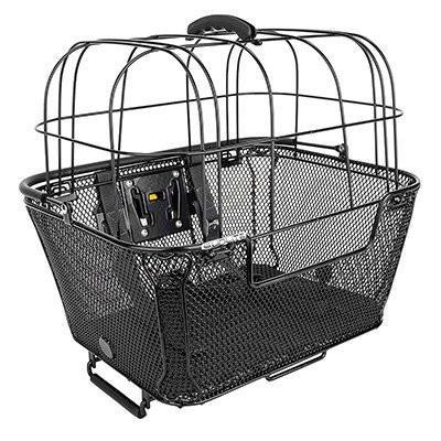 Sunlite Quick Release Pet Friendly Mesh Front or Rear Bicycle Basket-Sunlite-Voltaire Cycles of New Jersey
