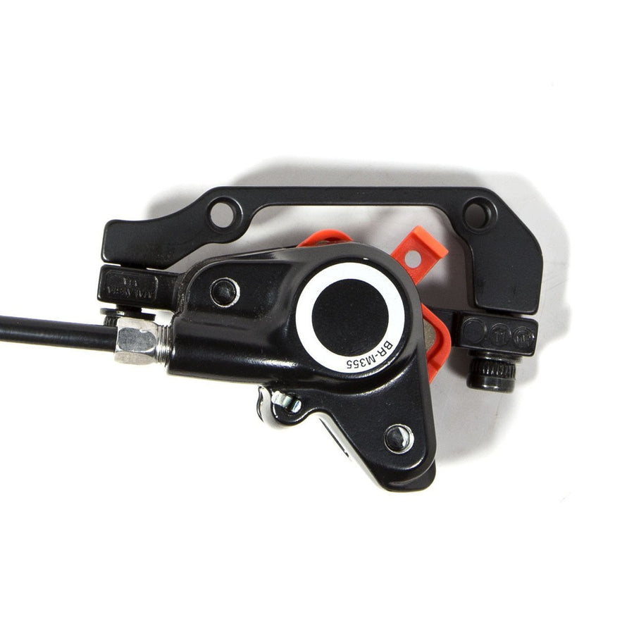 Shimano Hydraulic Disc Brake Set for BBSHD and BBS02-Shimano-Voltaire Cycles of New Jersey