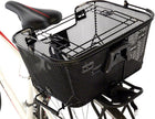 Axiom Pet Bicycle Basket with Rack and Handlebar Mounts: Black-Axiom-Voltaire Cycles of New Jersey