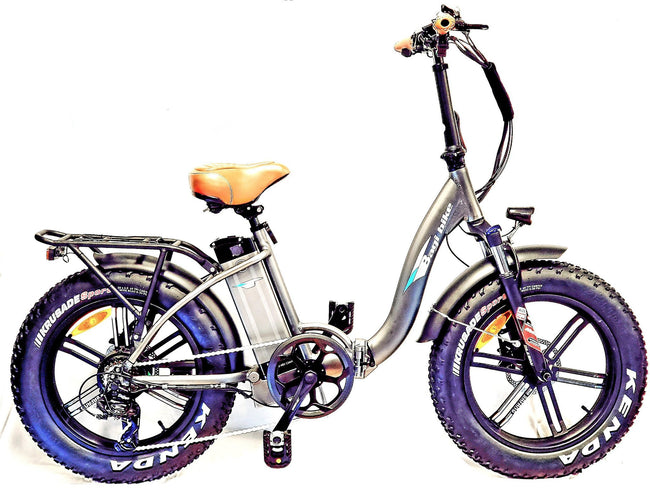 Bagibike B10 M Premium Folding Fat Bike Class 3 Speed Pedelec-Bagibike-Voltaire Cycles of New Jersey