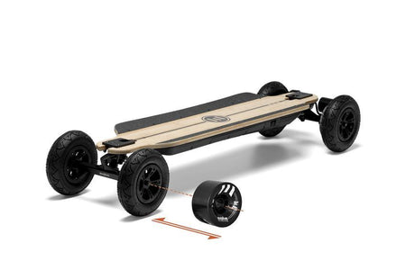 Evolve Bamboo GTR 2in1 Skateboard-EVOLVE-Voltaire Cycles of New Jersey