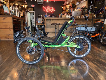 $380.00 Complete Trike Assembly, Freight Door-to-Door Delivery on wood pallet-The Electric Spokes Company-Voltaire Cycles of New Jersey