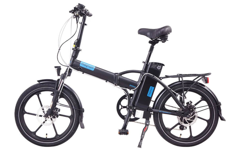 Magnum Premium 48v High Step 28-mph Speed Pedelec Electric Folding Bike-Magnum-Voltaire Cycles of New Jersey