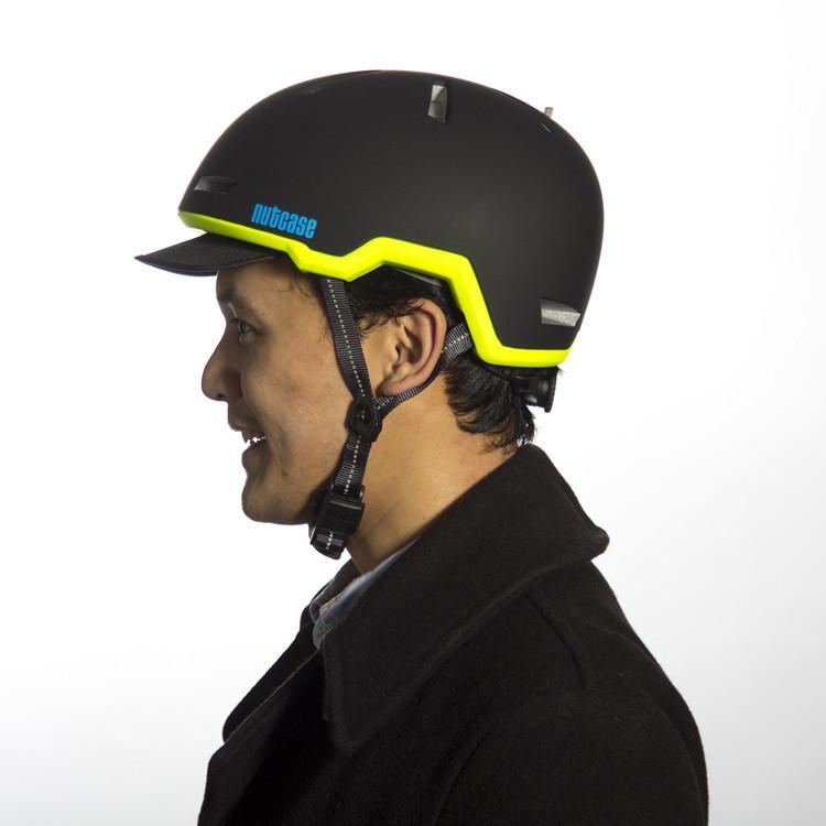 Nutcase Tracer Eclipse Black Bicycle Helmet-Nutcase-Voltaire Cycles of New Jersey
