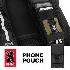 Chrome Phone Pouch Bag-Chrome-Voltaire Cycles of New Jersey