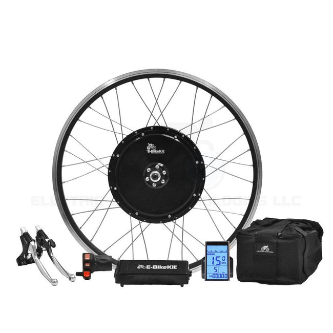 E-Trike Conversion Kit - SLA - Led Battery - Front Wheel-Electric Bike Technologies-Voltaire Cycles of New Jersey