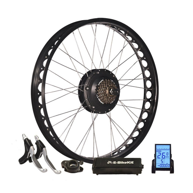 E-Bike Conversion Kit - Fat Bike- No Battery - Rear Wheel-Electric Bike Technologies-Voltaire Cycles of New Jersey