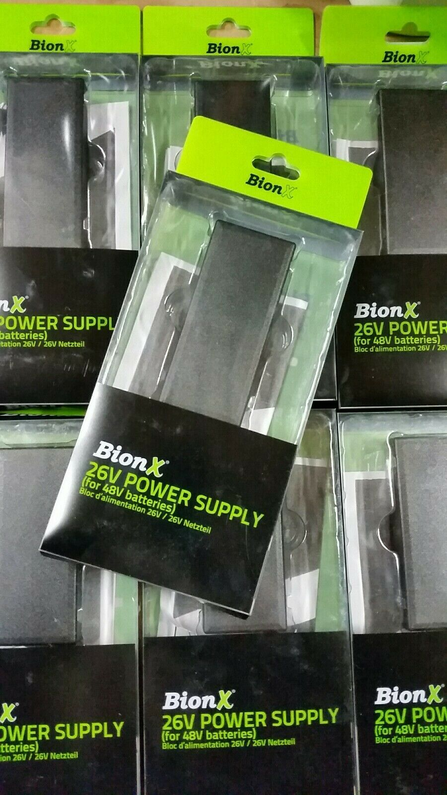BionX 26V Power Supply/Charger for BionX 48V Batteries-BionX-Voltaire Cycles of New Jersey