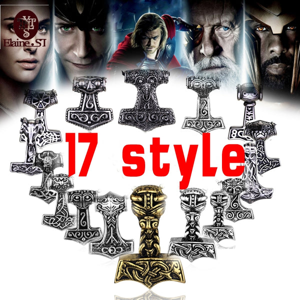 FREE SHIPPING TODAY - Thor Hammer Knot Pendant Necklace