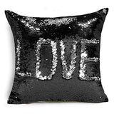 Glitter Sequins Throw Pillows