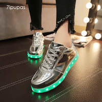 Metallics & MORE Led Light Up & GLOWING Sneakers