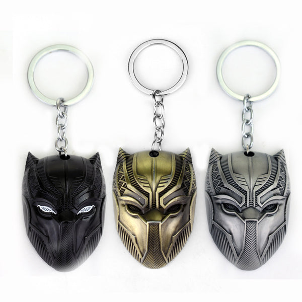 Marvel Comics Black Panther Keychain