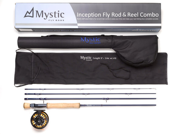 Inception Fly Rod & Reel Combo