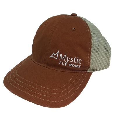 Mystic Logo Garment Washed Trucker Cap