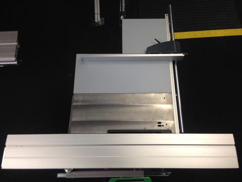 hammer f3 sliding table saw footprint