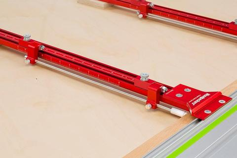 Back By Popular Demand - Woodpeckers Parallel Guide System and Domino Offset Base System