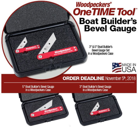 Ultimate Tools Boat Builder's Bevel Gauge - One Time Tools