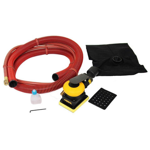 "Ultimate Tools 3x4"" Air Sander with Self-Generating Vacuum"