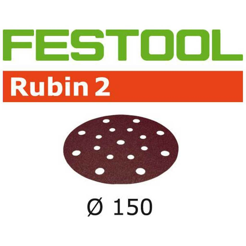 "Ultimate Tools 6"" Abrasive - Rubin 2 D150 P120"