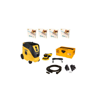 "DEROS 6"" Kit with Dust Extractor"