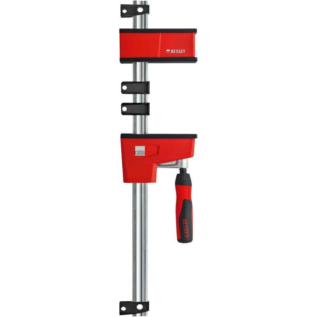 Bessey K Body VARIO REVOlution 1700 Pound Parallel Bar Clamp with two moveable jaws