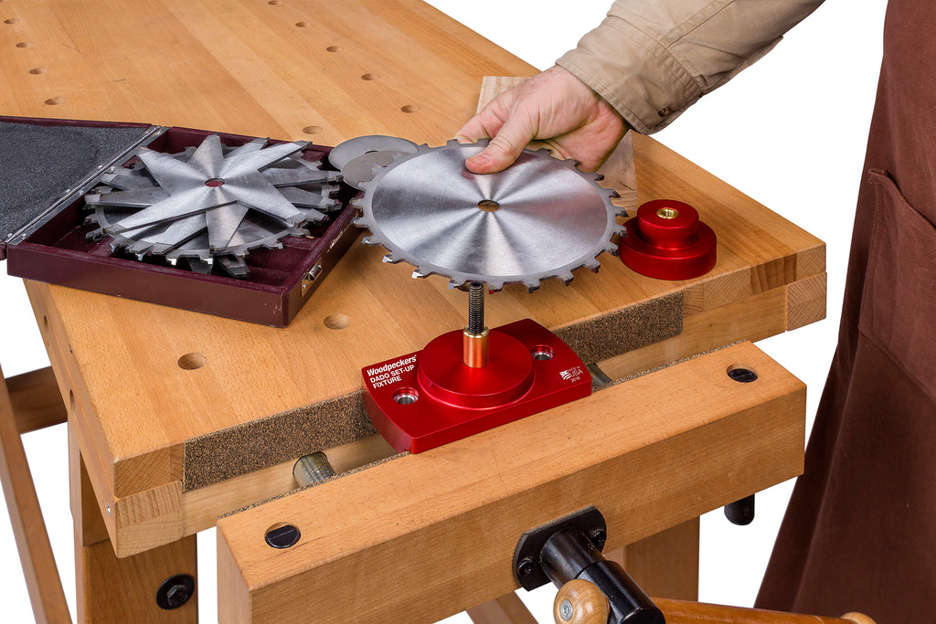 Ultimate Tools Dado Set-Up Fixture and Gap Gauge 2019 - OneTIME Tool