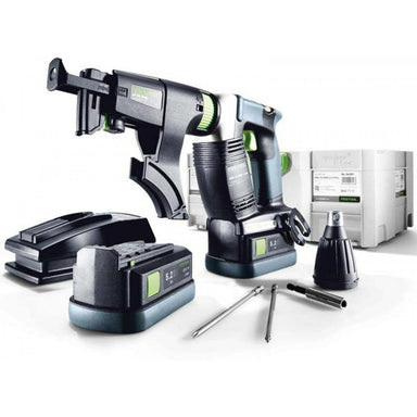 Festool DWC 18-4500 Cordless Autofeed Screw Gun with Airstream Batteries