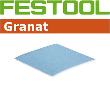 Ultimate Tools Granat Abrasives Hand Sanding - Soft Sheet Foam Back  (115 x 125mm)