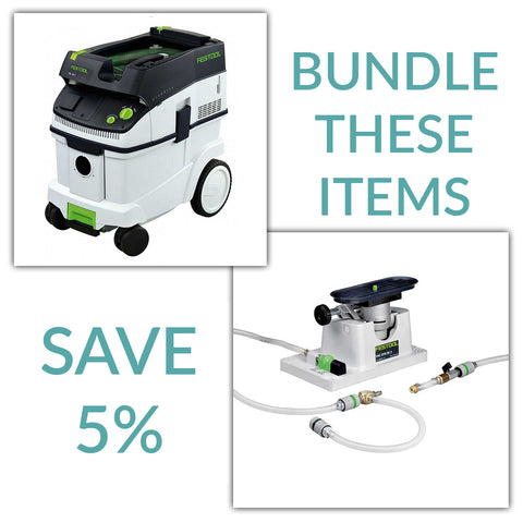 Bundle & Save! - CT 36 Dust Extractor + Festool VAC SYS SE 2 Clamping Module