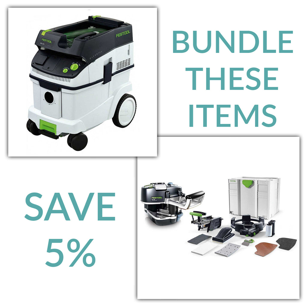 Bundle & Save! - CT 36 Dust Extractor + Festool Conturo KA 65 Edge Bander | Conturo Set