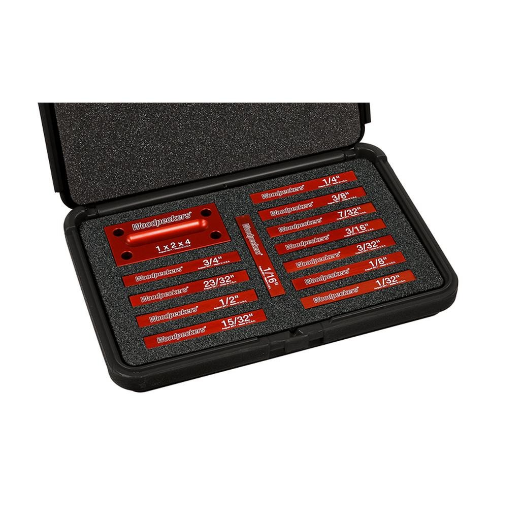 Woodpeckers Woodpeckers Setup Blocks 2016 - OneTime Tool - Retired, Imperial 13-pc Standard - Ultimate Tools - 5