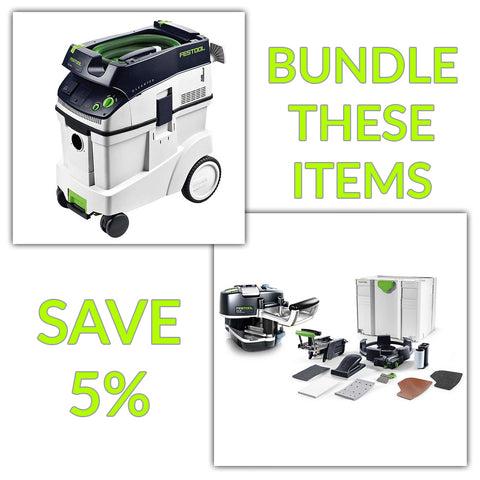 Bundle & Save! - CT 48 Dust Extractor + Festool Conturo KA 65 Edge Bander | Conturo Set