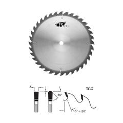 "FS Tool 10"" 24T TCG Glue Line Rip Blade  - 30mm Bore - L22250-30PH - Hammer/Felder Pin Holes"
