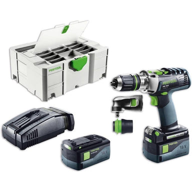 PDC 18/4 QuaDrive Cordless Drill with Airstream Batteries