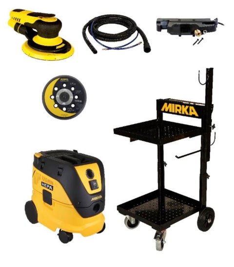 Mirka Pneumatic PROS Starter Package