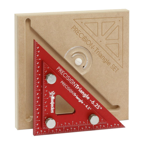 "Woodpeckers 4"" and 6"" Precision Triangle Set,  - Ultimate Tools"