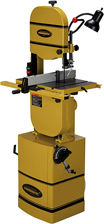 "PWBS-14CS 14"" Bandsaw with Stand and Riser Block"