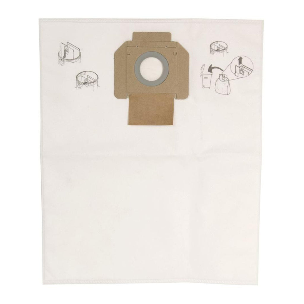 Ultimate Tools Package of 5 Dust Bags for Mirka 30 L Dust Extractor