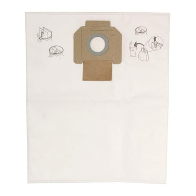 Package of 5 Dust Bags for Mirka 30 L Dust Extractor