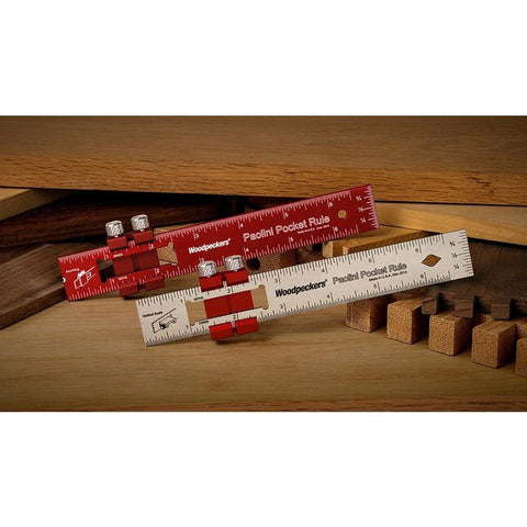 Woodpeckers Paolini Pocket Rules  - OneTIME Tools - Retired,  - Ultimate Tools - 1