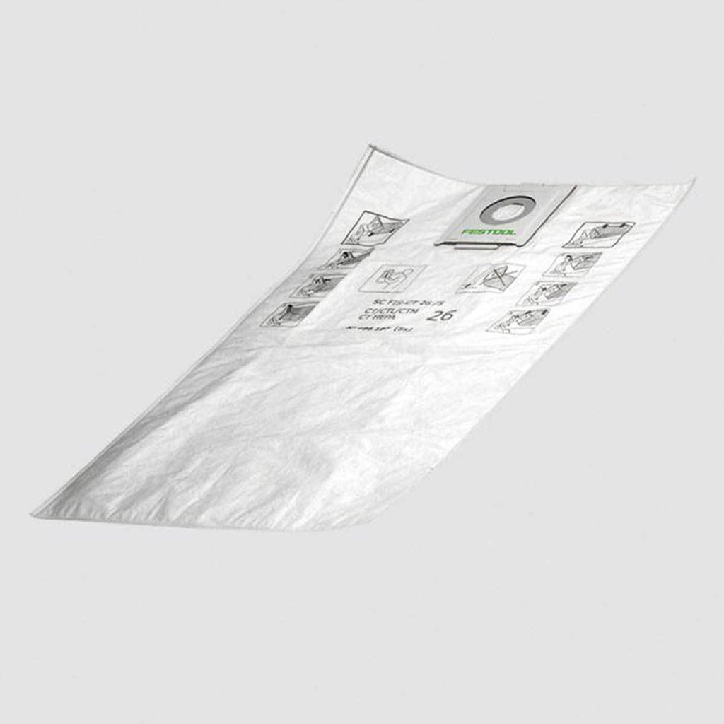 Replacement Self cleaning Filter bags for CT Dust Extractors CT26 CT36 CT49