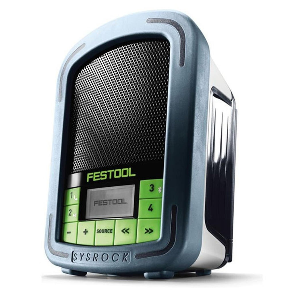 SYSROCK BR 10 Jobsite Radio with Bluetooth & Aux
